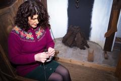 Fair Isle Knitting Shetland